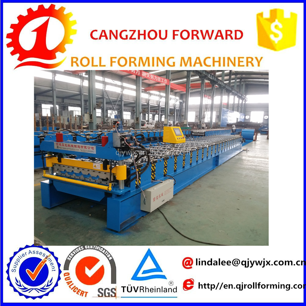 roofing sheet galvanised aluminum cold roll forming machinery manufacture