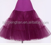 Wholesale Colorful Tulle Underskirt Petticoat For Women Dresses wholesale petticoat