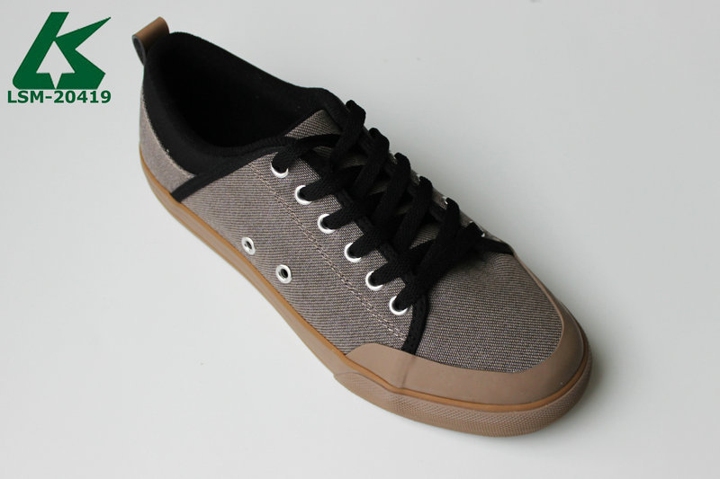 new men canvas fashion sneakers