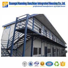 Two floor/ storey the guset house/ receiption building hotel for rent concrete prefabricated house modular homes