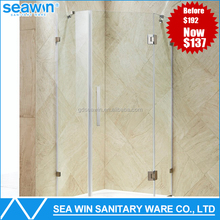 Fashion Open Style Design 3 sided shower enclosure