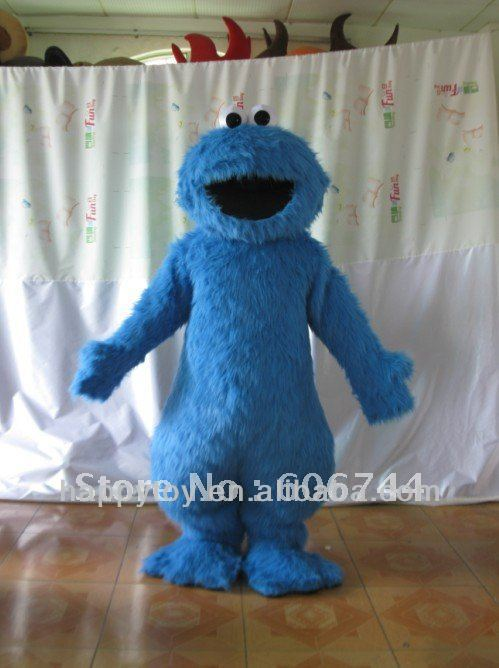 HI EN 71 cookie monster mascot costume for adult