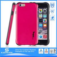 Red stylish style rubber bumper frame for iphone 6 plusg 5s silicone case