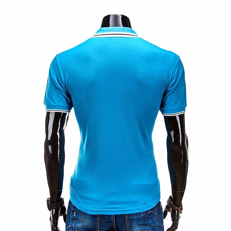 Factory high quality new design custom embroidery mens for Custom polo shirt manufacturers