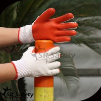 SRSAFETY latex laminated building labour protection glove
