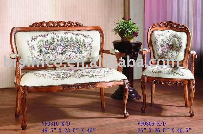 Mano tallada de madera maciza sof silla del ocio silla for Ocio muebles