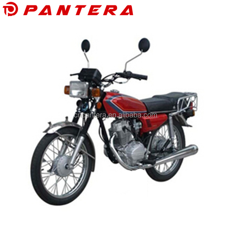 2017 New Air-Cooled 4-Stroke Alloy Rim Motorbike 125cc CG125 Motocicleta For Sale