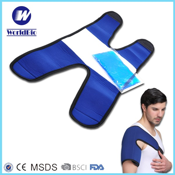 Plastic Reusable Gel Ice Packs For Heat Cold Therapy