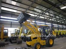 small hydraulic 4-in-1 bucket backhoe loader rc backhoe loader for sale