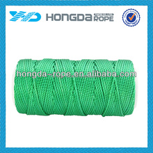 Green Color monofilament twisted 36 nylon twine for package rope