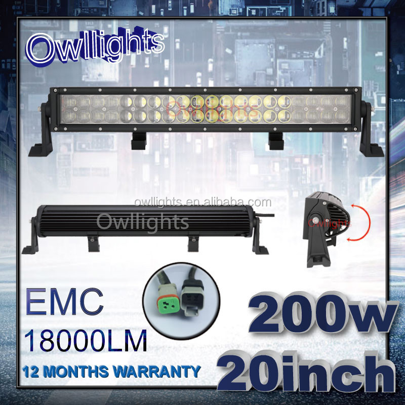 China Wholesale 4x4 accessories New 21.5 Inch 200w Car LED Light Bar 200w LED Light Bar for Off Road ATV Truck Jeep Wrangler