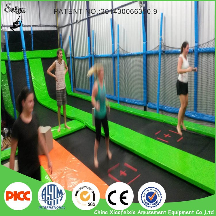durable popular bounce house cheap trampoline park with foam pit online sale