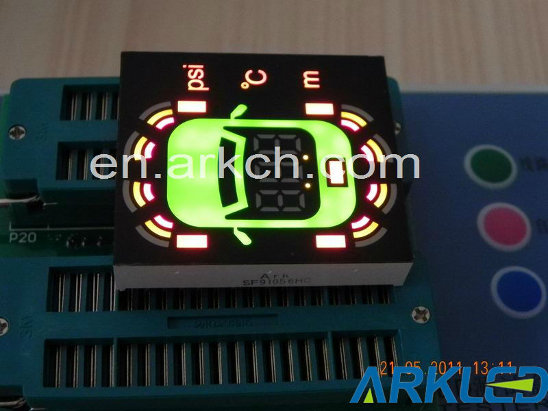 customized led display for car navigation for stopping