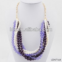 wholesale replica jewelry color mashup necklace