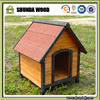 SDD004 Pet Dog Kennel House with Patio Wooden Timber Bed Large Porch Deck