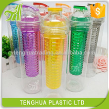 700ML recyclable bpa free plastic water bottles with infuser