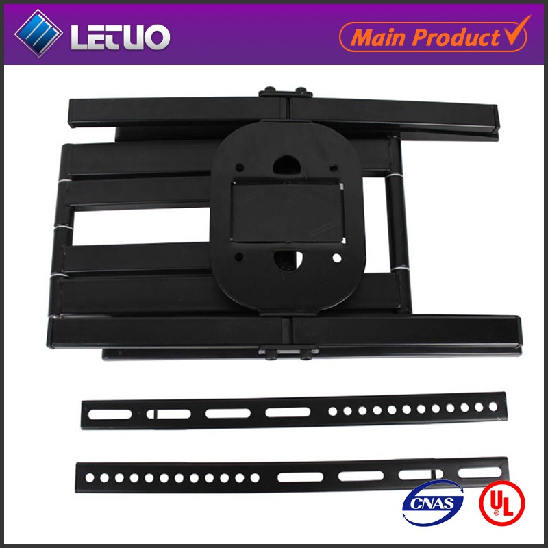 Corner TV wall mount Curved full motion TV wall mount