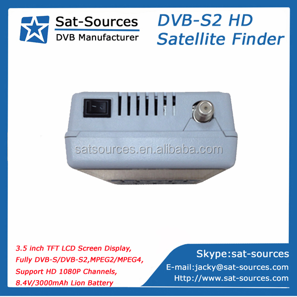 HD Satellite Finder Meter SKYSAT S-8002 with 3.5 inch LCD Screen