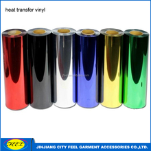Foil heat transfer vinyl film for tshirt