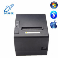 "3"" desktop thermal pos receipt ios bluetooth printer for smartphone and windows"
