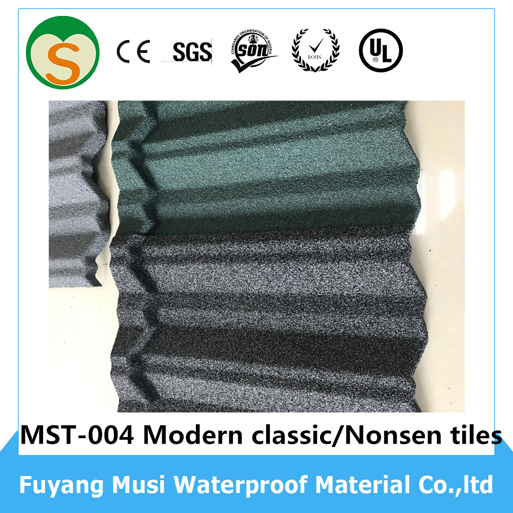 Popular Nosen types of roof covering sheets tile roof sheets
