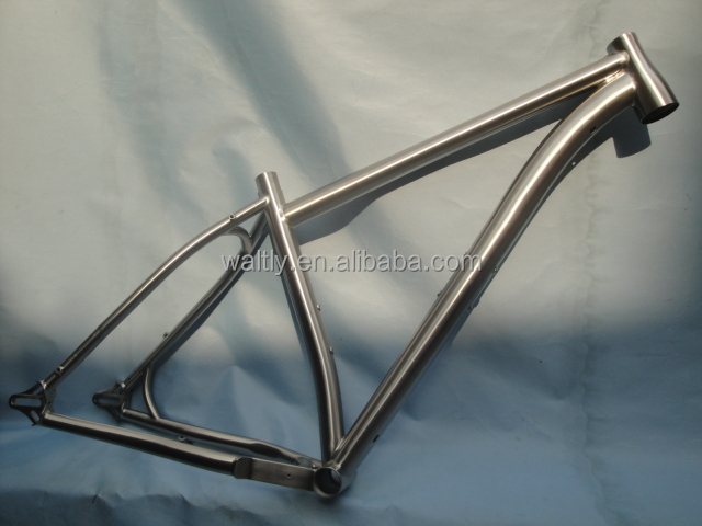 "4.7"" tyre 26"" fat titanium bicycle frame with fat bike wheel WT-S45"