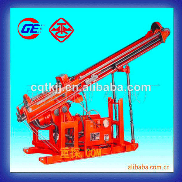 Chongqing exploration machinery factory Good Quality core hydraulic portable drilling MGJ-50 soil testing drilling rig