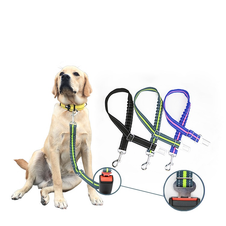 Pet supplies dog leash Pet harness vehicle Dog car seat belt