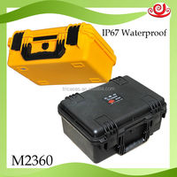 factory price hard plastic IP67 waterproof tool box handles and latches