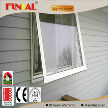 Australia standard aluminum awning window with fixed screen