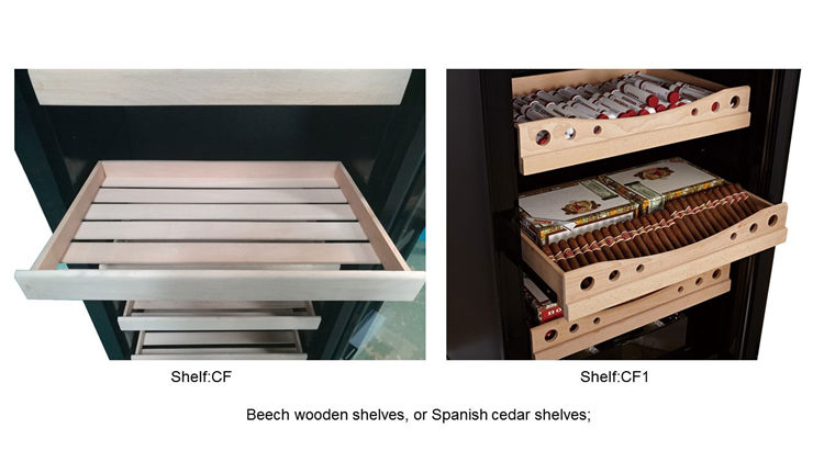 JF-28CF 400 pcs small electric cigar humidor