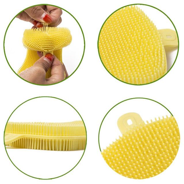 Cleaning Tool Baby Brush Silicone Bath Brush