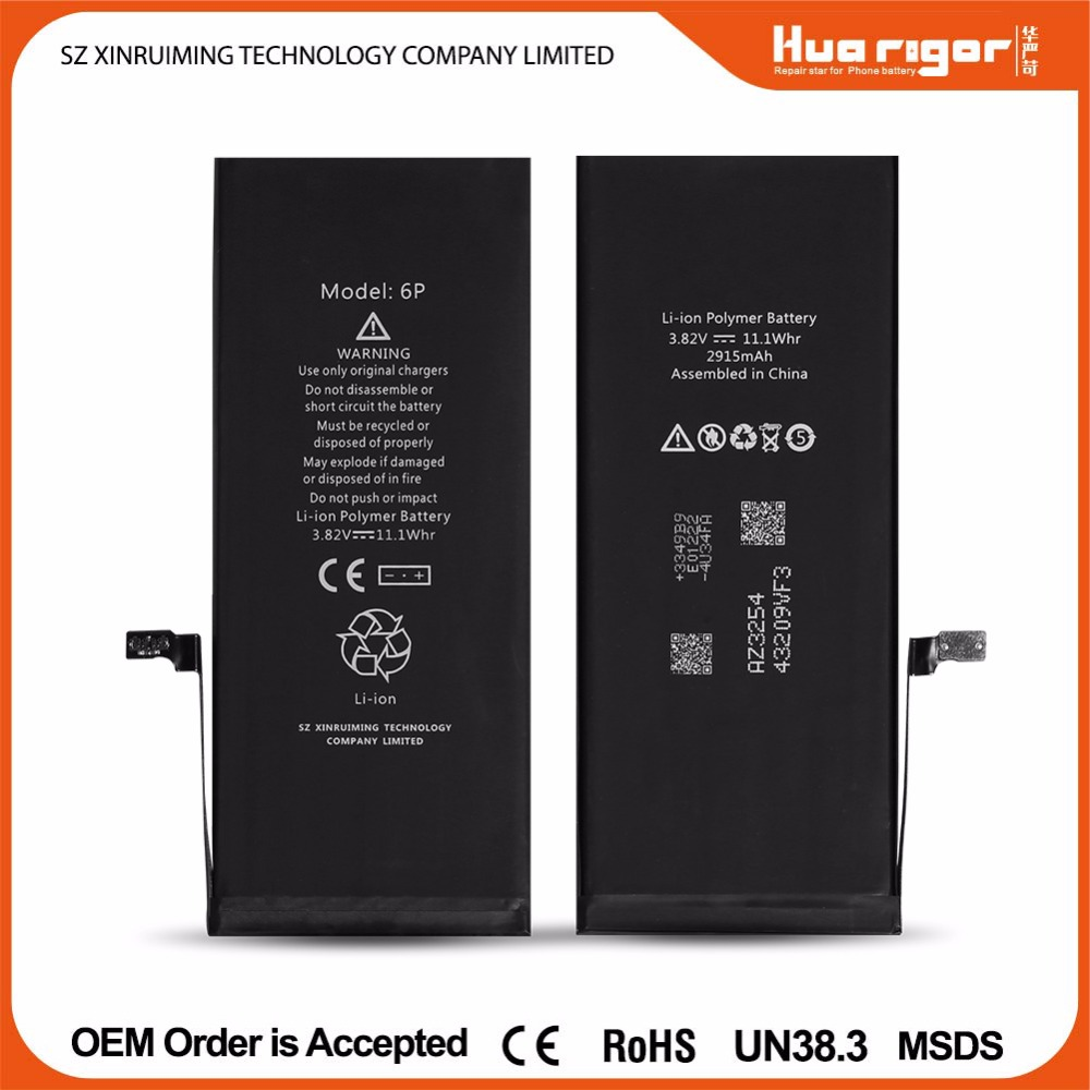 OEM factory wholesale original mobile phone battery for iphone4 4S 5 5s 5C 6 6S 6plus 7 plus battery replacement