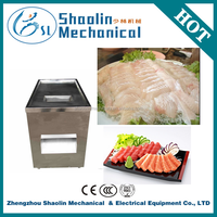 Direct factory stainless steel fish cutter/catfish fillet machine with best service