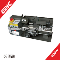 EBIC metal lathe machine cutting power tools 400W small metal lathe