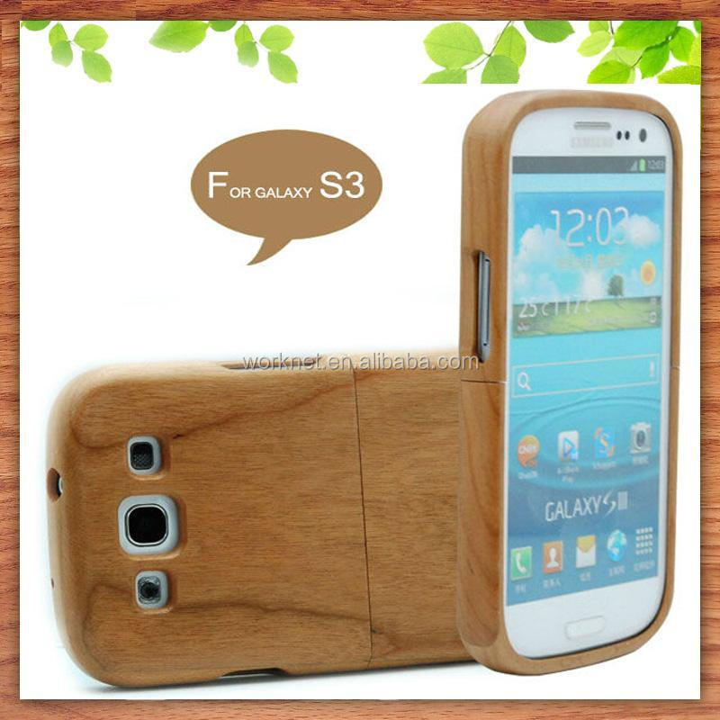 for samsung galaxy s3 factory price phone case made of wood