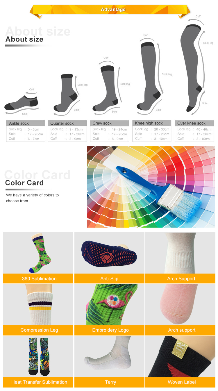 Cotton socks custom high quality happy dress collection knitted socks