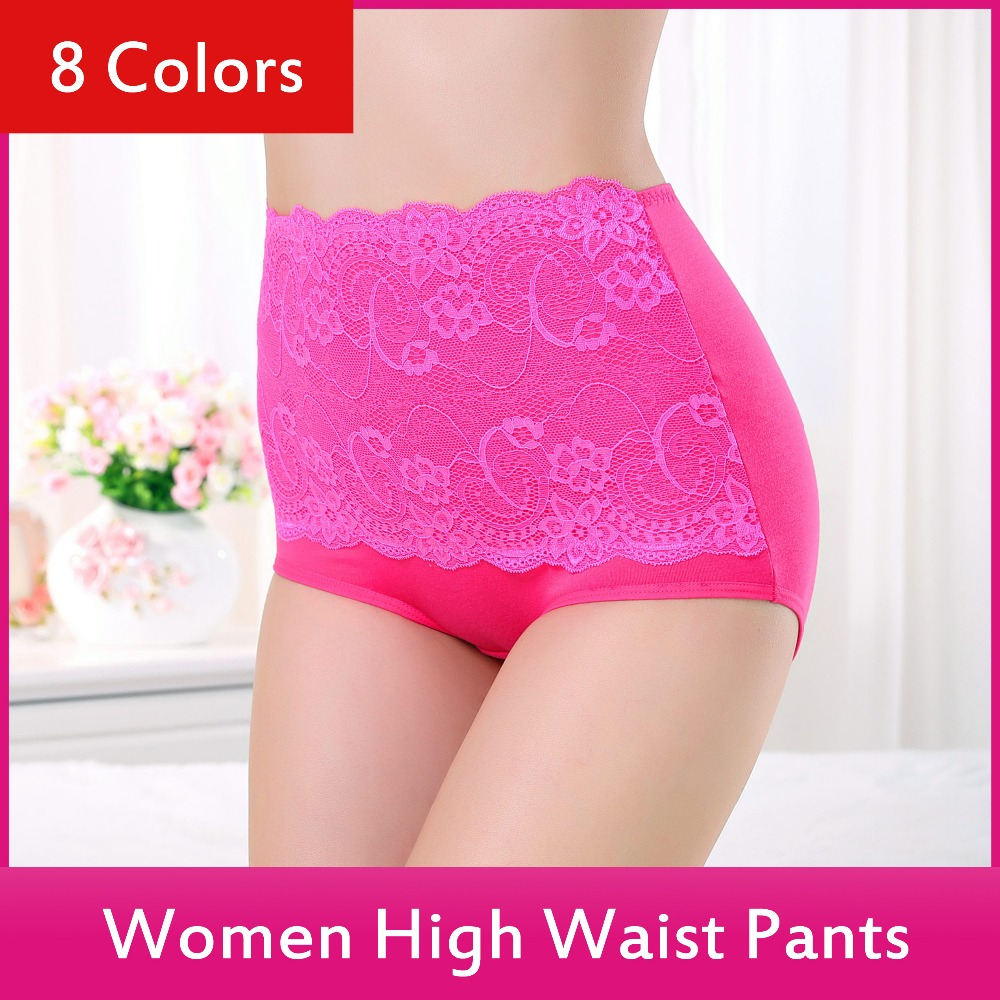 Luxury Lady Lace High Waist Panty Underwear For Fat Men Hot Young Girl Sexy Underwear 504