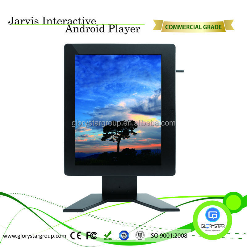 Customized 19/22/32/42 inch LCD Display Kiosk/Flat Screen TV For Advertising
