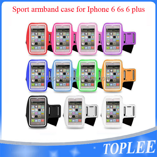 Sports Running Jogging Gym Armband Arm Band Case Cover Holder For iPhone 6 6s plus