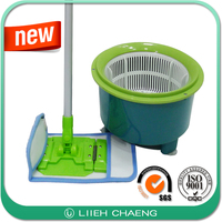 High quality folding flat spin mop with sample plastic bucket