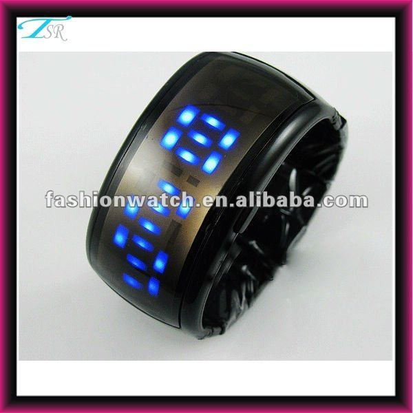 china made 2017 promotion new red led light fashion digital watch