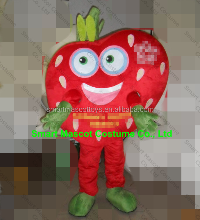 EVA plush material ganit plush fruit mascot costume cartoon strawberry