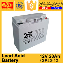 Hot Selling India Sealed Rechargeable 12v 20Ah Lead Acid Battery