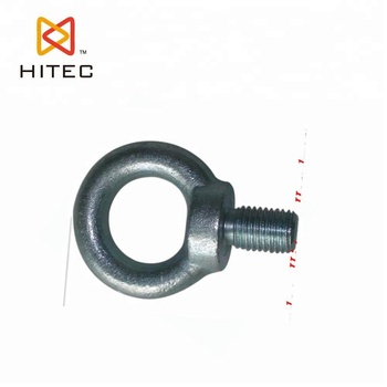 Stainless steel drop forged eye bolt DIN 580