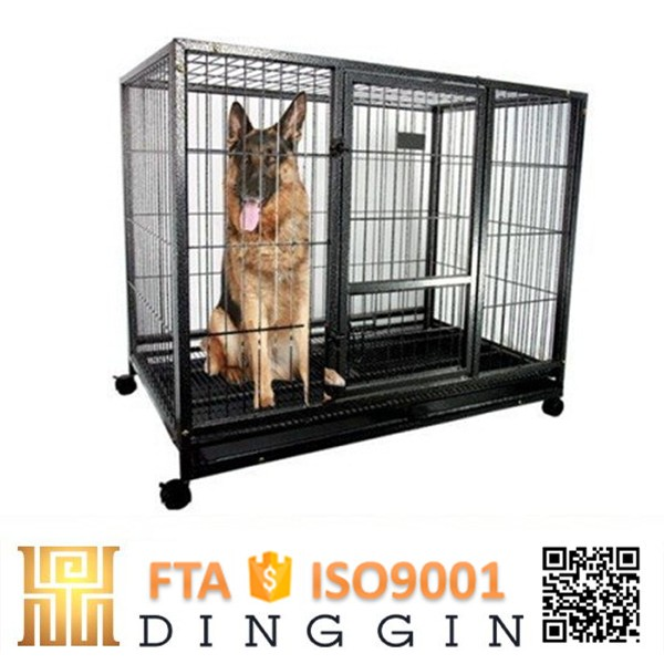 Hollow tube dog kennel design
