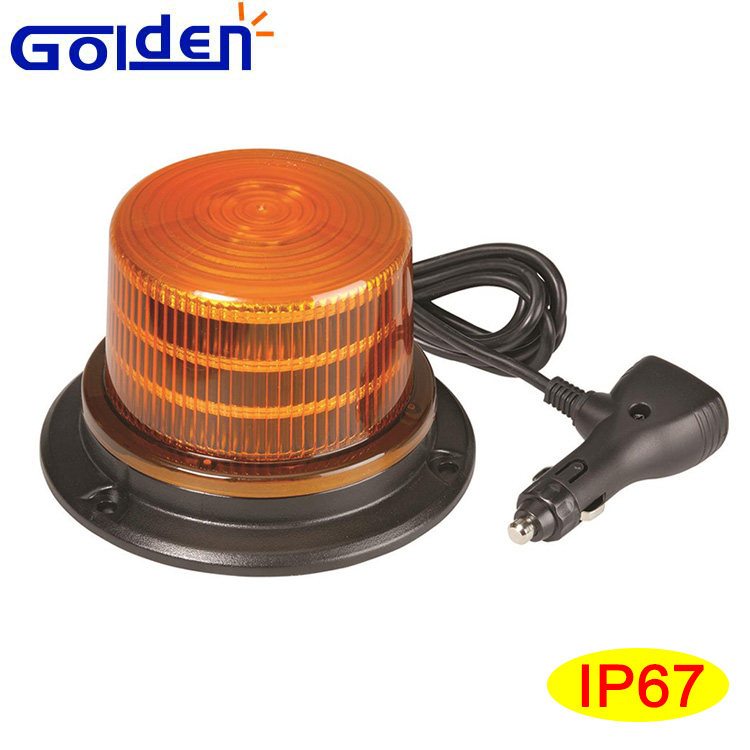 Good Quality amber led strobe light rotating flash Car Led warning beacon