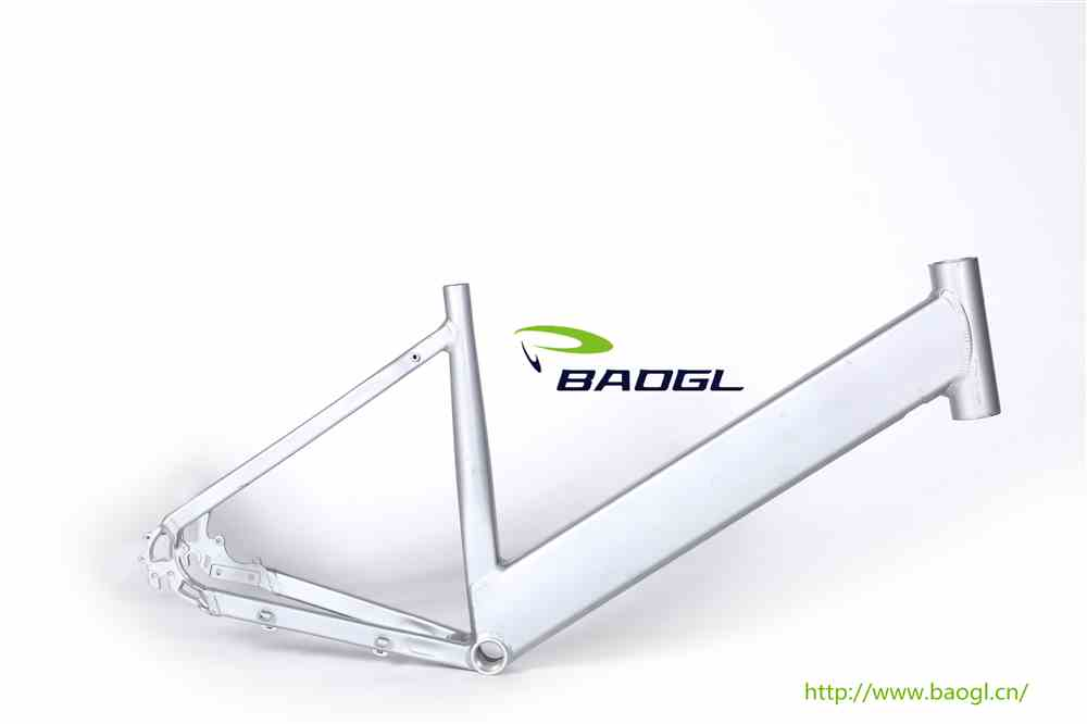 BAOGL bicycle frame for double seat bicycle