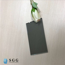 Cut to size 5mm, 6mm light gray reflective glass sheet