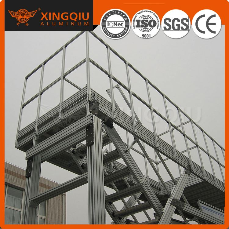 Precision +-0.1mm Galvanizing aluminium alloy formwork beams